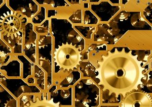 Image of machine - cogs